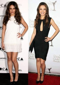 Mila Kunis Weight Loss Before and After